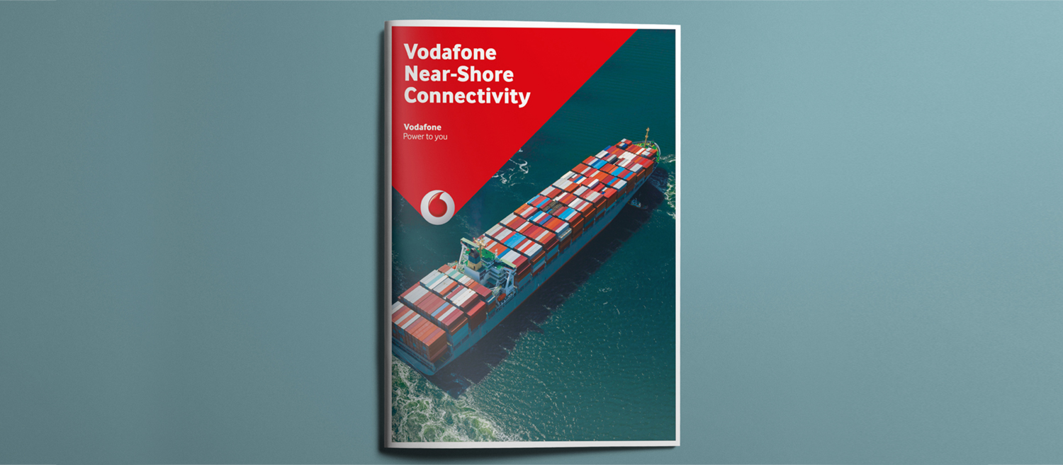 Vodafone Brochure Design